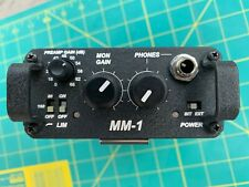 Sound Devices MM-1 Single Channel Portable Microphone Preamp - Boom Operator!