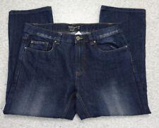 Jeanshose Hose W 36 44/46 DAMEN Blau Stretch Identic Straight