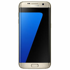 Unlocked Samsung Galaxy S7 Edge G935U 32GB GSM AT&T T-Mobile Cricket Gold Used