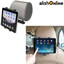 7-10'' INCH HEADREST VEHICLE IN CAR BACK REAR SEAT SUCTION TABLET MOUNT HOLDER