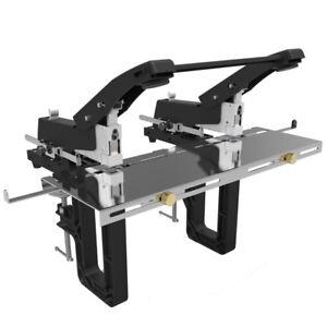 Dual head Manual Rapid Flat Saddle Stitch Stapler Staple Machine Binder