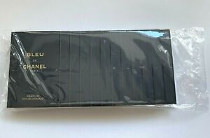 Chanel Bleu De Chanel Parfum 1.5 ml x 12 pcs (18 ML) UNSEALED PACK VIP GIFT