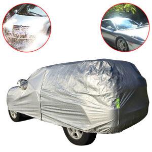 Aluminum Full Car Cover Sun Auti-Dust Rain Resistant Snow for Ford Explorer SUV