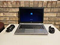 HP LAPTOP ELITEBOOK 8470p i5 2.6GHz 8GB DVD WEBCAM SSD WINDOWS 10 WIN WiFi PC HD