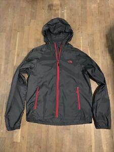 mens north face rain jacket large