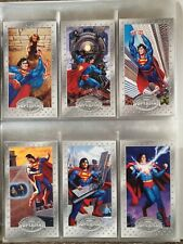 Superman the Man of Steel Series Skybox 1994 complete set of 90 DC Comics