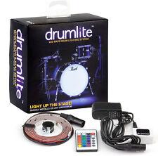 """Drumlite dlk20 LED 20"""" Bass Drum iluminación show efecto 16 colores"""