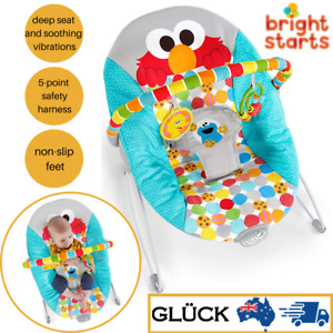 Bright Starts Baby/Infant/Newborn Bouncer/Rocker Chair Seat Soothing Vibrations