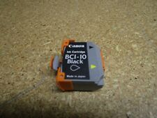 Lot Of 4 New Genuine Canon BC-10 Black ink Cartridge Out Of Box Out Of Bag
