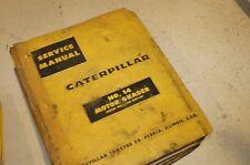 CAT Caterpillar 14 Motor Grader Service Repair Manual blade overhaul shop owner