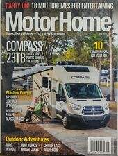 Motor Home May 2017 Compass 23TB RV Enthusiast Travel Lifestyle FREE SHIPPING sb
