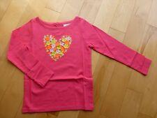 NWT Brand New Mini Boden Girls Fluttery Graphic Tee Top Long Sleeve T-Shirt 3 4