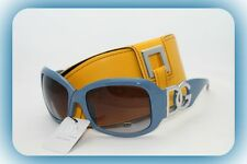 D.G BLUE SUNGLASSES NEW STYLE HOLIDAY FASHION CELEBRITY  +YELLOW CASE #4