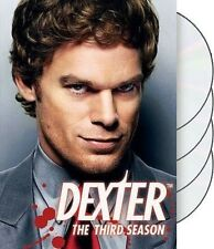 Dexter Third Season Series 3 US IMPORT NTSC 4 Discs 12 Episodes New and Sealed .
