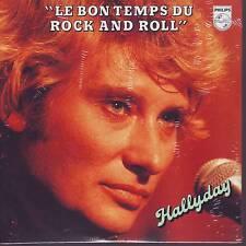 CD 2 titres JOHNNY HALLYDAY *** LE BON TEMPS DU ROCK AND ROLL  n°161