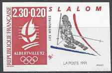 JEUX OLYMPIQUES JO N°2676 TIMBRE NON DENTELÉ IMPERF 1991 - NEUF ** LUXE MNH