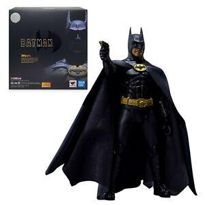 SH Figuarts Batman 1989 Michael Keaton DC Comics Bandai Tamashii Nations - NIB