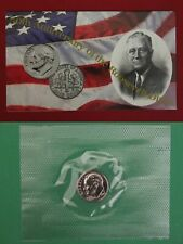1996 W Roosevelt Dime In Mint Cello With Coa Free Shipping!