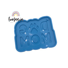 Dog Mom Silicone Mold, Shiny Mold, Silicone Molds for Epoxy Crafts, Resin Craft