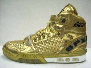 Sneakers SPX Street Slam Gold or SilverTroop Hi Top New Vintage Look