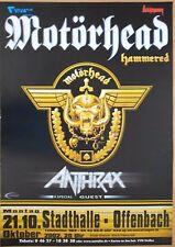 MOTÖRHEAD    2002    OFFENBACH     orig. Concert-Konzert-Poster   84 x 60 cm