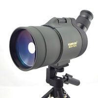 Angled 25-75x70 Zoom Precision Spotting Scope Telescope Nature with Tripod
