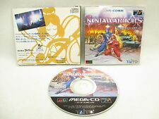 Ninja Warriors GOOD Condition Mega CD SEGA JAPAN Game mc