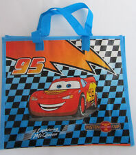 Cars * Kinder-Tasche * Einkaufstasche * Blau/Schwarz kariert *Lightnig*Neu