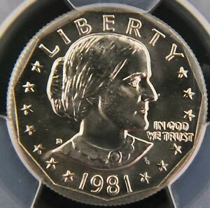 1981 D PCGS MS65 Susan B Anthony SBA Dollar - Nice coin for your collection!!!