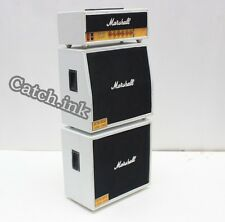 Marshall JCM 800 White Lead Guitar Speaker Cabinet Miniature For Display Only