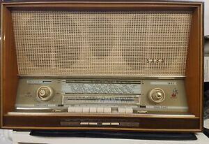 Saba freiburg Vollautomatic 11 Stereo Röhrenradio Teildefekt