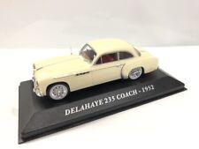 Delahaye 235 Coach 1952 los Coches de Antaño 1/43 Altaya Nuevo Caja Plexi
