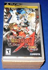 Lot of 4 (Sealed Case) Guilty Gear XX: Accent Core Plus Sony PSP *Free Ship!