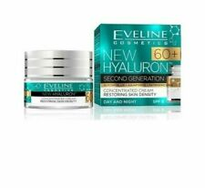 EVELINE New HYALURON Day/Night SPF8 Cream Concentrate 60+ Reduces Wrinkles 50 ml