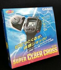 Rare New CASIO Vintage Watch JG-200 Super Cyber Cross Game Watch from Japan F/S