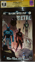Dark Nights Metal #5 Planet Comicon A CGC SS 9.8 Signed x2 Capullo & Snyder
