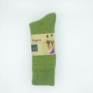 Angora Wool Blend Cushion Socks - 2 Pair Pack,Winter Socks,Comfort top Socks