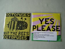 OCTOPUSES job lot of 2 promo CDs Yes Please Album Sampler Not The Bees