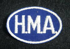 H M A  EMBROIDERED SEW ON ONLY PATCH CONSTRUCTION TRUCKING TRANSPORTATION
