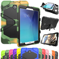 """Hybrid Rubber Shockproof Heavy Duty Hard Protect Case For Samsung TabE 9.6"""" T560"""
