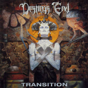 DESTINY'S END Transition CD 10 tracks SEALED NEW 2001 Metal Blade USA HELSTAR
