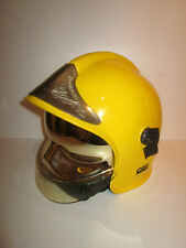 POUR COLLECTION ANCIEN CASQUE POMPIERS FIREFIGHTER HELMET JAUNE GALLET CGF 2000