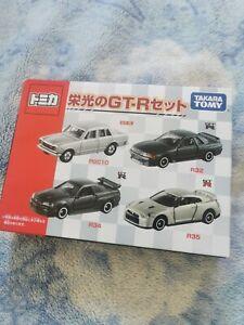 Tomica NISSAN Skyline GT-R Set of 4 Cars