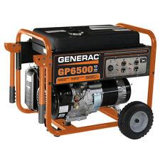 Generac 5976 GP6500 6,500 Watt Recoil Start Gas Powered Portable Generator - CSA
