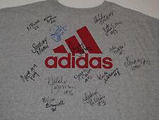 Cincinnati Bearcats Womens Volleyball Autographed T-Shirt 2006-2010 Niemer Fesl