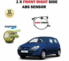 FOR HYUNDAI GETZ 1.1 1.3 1.4 1.5DT CRDi 1.6I 2002-> FRONT RIGHT ABS SPEED SENSOR