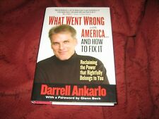 What Went Wrong with America-- and How to Fix It...DARRELL ANKARLO HD SIGNED