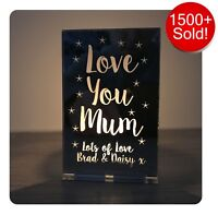 Personalised Mothers Day Gifts For Her Mum Nanny Granny Nana Candle Holder Gifts