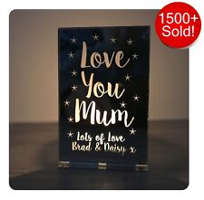 Personalised Christmas Gifts For Her Mum Mummy Nanny Grandma Candle Holder Gifts