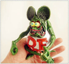 "Green Rat Fink Ed! Big Daddy Roth RF Action Figure 4""-5"" #A2"